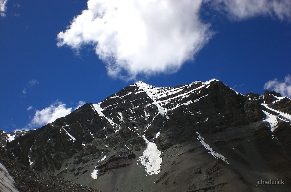 Stok Kangri 6153m by jchadwick