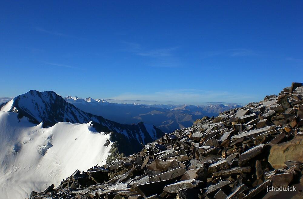 Stok Kangri Ridge by jchadwick