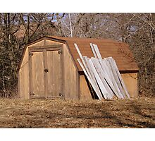 Storage Shed Photographic Print