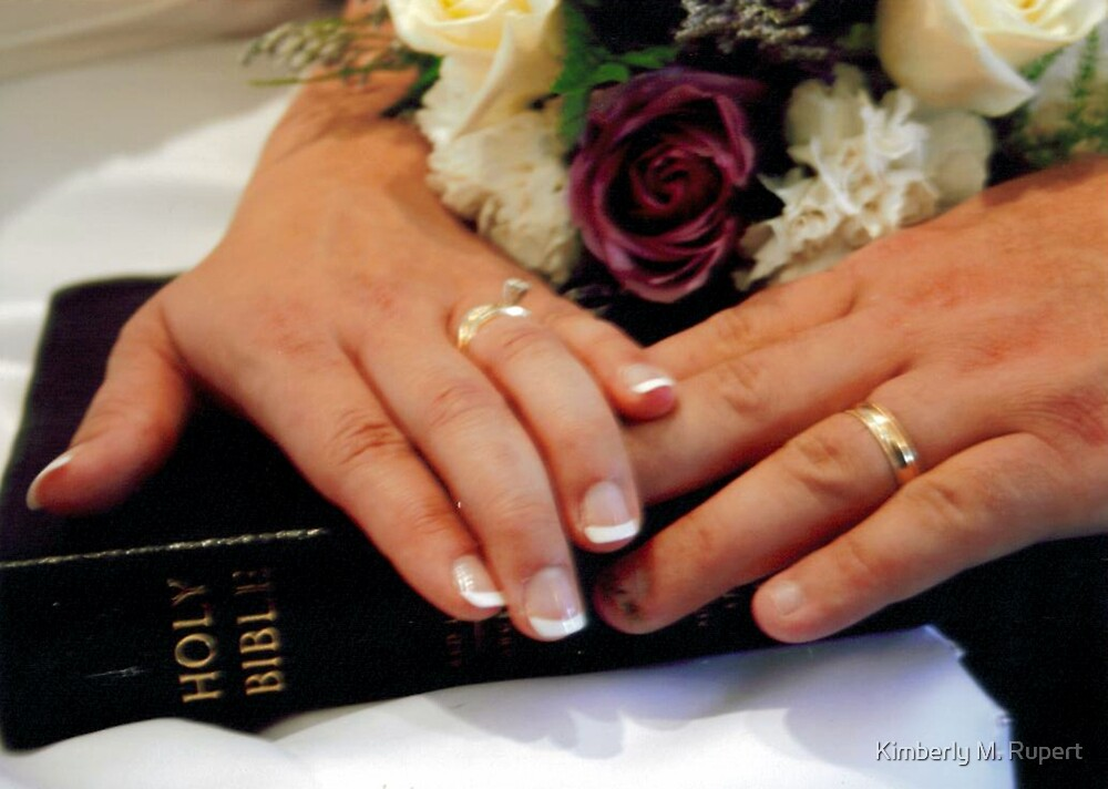 The Bride, The Groom & God by Kimberly M. Rupert