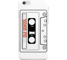 Retro Oldschool Cassette Tape Tees iPhone Case/Skin