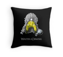 Breaking Bad - Walter is Coming Throw Pillow