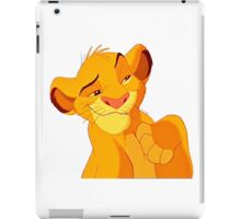 Simba - Lion King iPad Case/Skin
