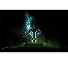 The legend of Zelda - Link sword Excalibur Photographic Print