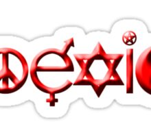Coexist 0002 Sticker