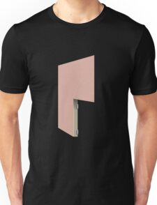 Glitch Homes Wallpaper heartred stucco right divide Unisex T-Shirt
