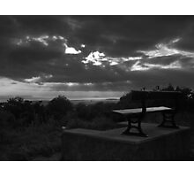 Sit a while Photographic Print