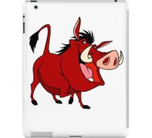 Pumba iPad Case/Skin