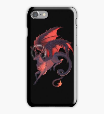 The Red Dragonstag iPhone Case/Skin