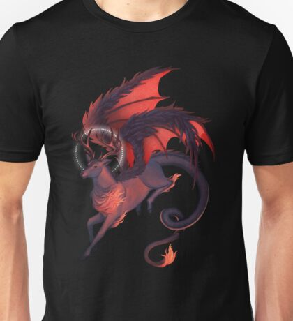 The Red Dragonstag Unisex T-Shirt