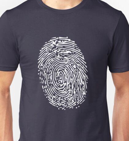 Empreintes digitales Unisex T-Shirt