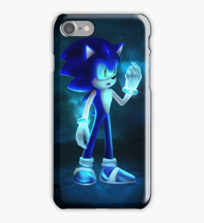 Cool Blue Sonic iPhone Case/Skin