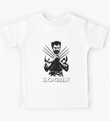 Old Logan (Wolverine) 2017 (white) Kids Tee