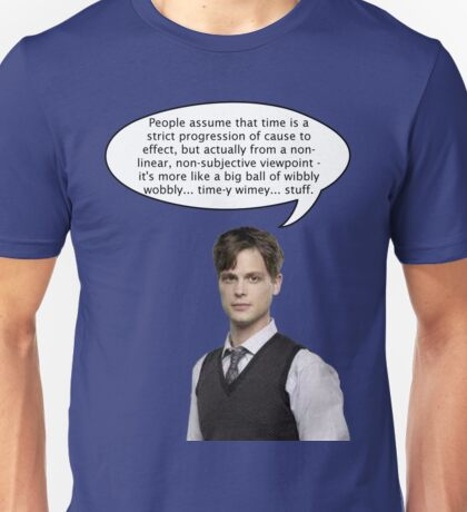 spencer reid quotes the doctor Unisex T-Shirt