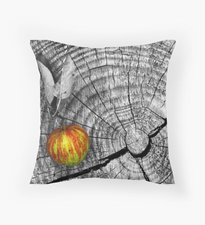 Adam's Flaw Throw Pillow
