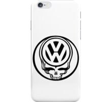VW Dead Head black iPhone Case/Skin