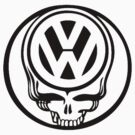 VW Dead Head black by thatstickerguy