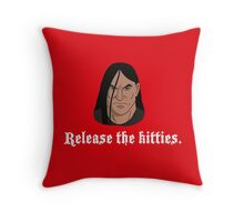 Dethklok's Island for Wayward Kitties Throw Pillow