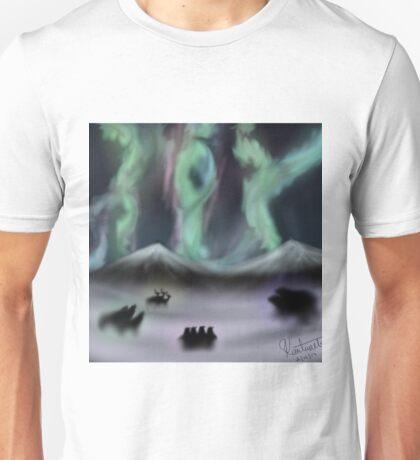 The Northern Lights Unisex T-Shirt