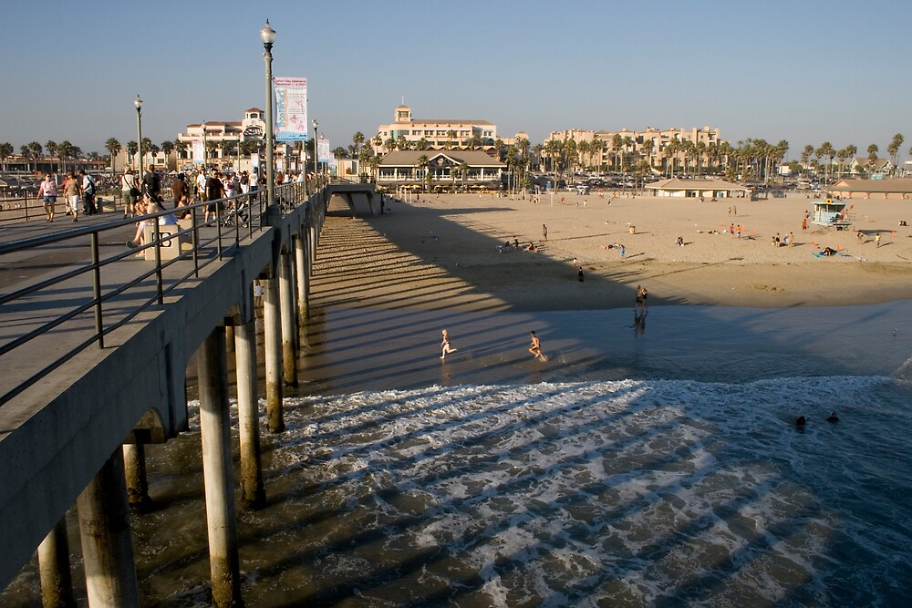 Huntington Beach - 2 by Francis Alfred