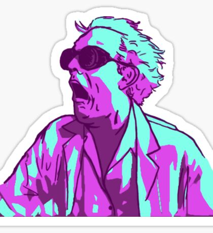 Doc Brown Sticker
