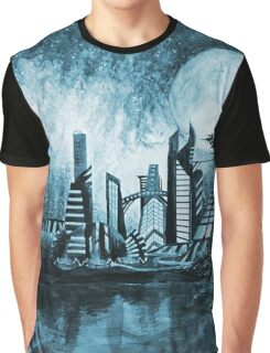 Spaceport Europa Graphic T-Shirt