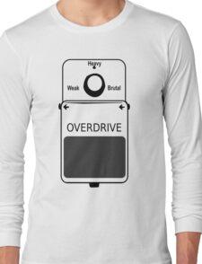 Guitar Stompbox Overdrive Brutal Long Sleeve T-Shirt