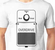 Guitar Stompbox Overdrive Brutal Unisex T-Shirt