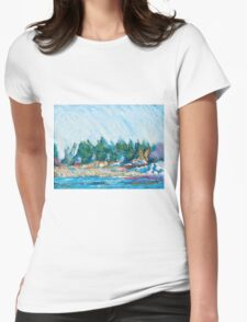 Portsmouth Womens Fitted T-Shirt