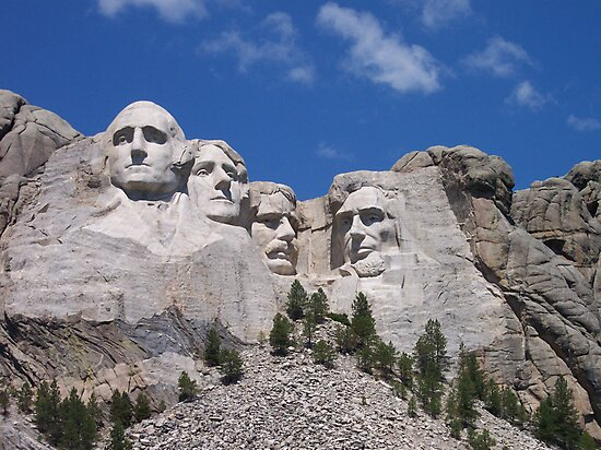 Mount Rushmore by Gary L   Suddath