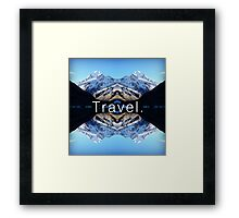 Travel. Mount Cook Framed Print
