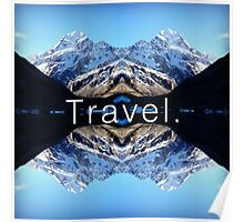 Travel. Mount Cook Poster