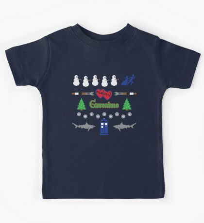 Ugly Christmas Sweater Special Kids Tee
