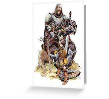Arya & the Hound Greeting Card