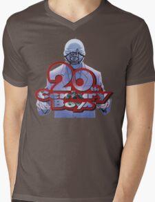 20th Century Boys World in Hands Mens V-Neck T-Shirt