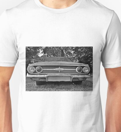 Chevrolet Bel Air Black And White Unisex T-Shirt