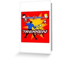 TREKKEN Greeting Card