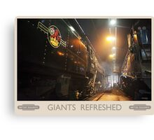Giants Refreshed Canvas Print