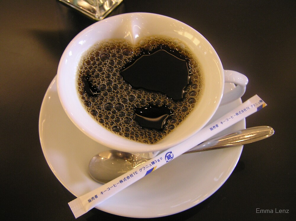for the love of coffee by Emma Lenz