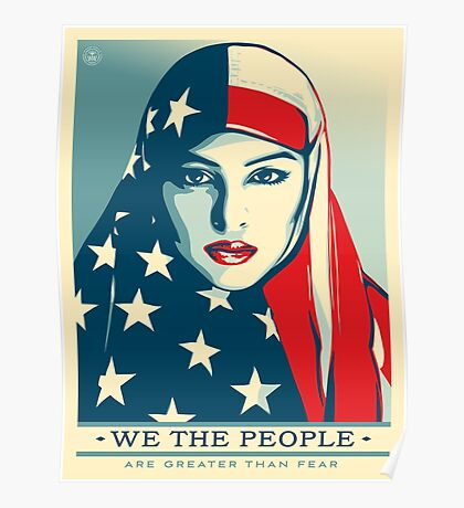 We the people -are greater than fear Poster
