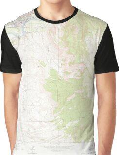 USGS TOPO Map Colorado CO Palisade 451471 1962 24000 Graphic T-Shirt