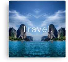 Travel. Krabi Canvas Print