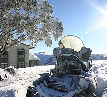 Snow Mobile by Drew Waddingham