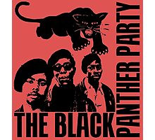 BLACK PANTHER PARTY Photographic Print