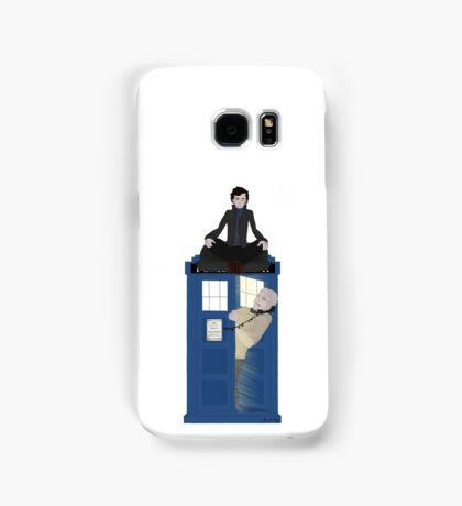 Sherlock - Doctor Who - Wholock Samsung Galaxy Case/Skin