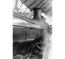 Steam at Southern Cross Photographic Print