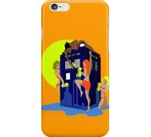 Tardis wash iPhone Case/Skin