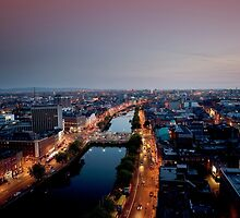 Dublin City, Ireland. by 2cimage