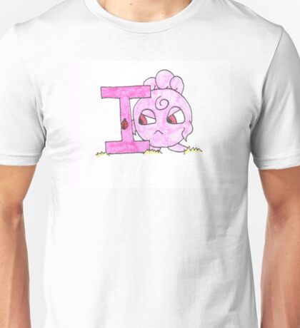 I is for Iggly Buff Unisex T-Shirt