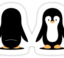 Penguin 360 Sticker